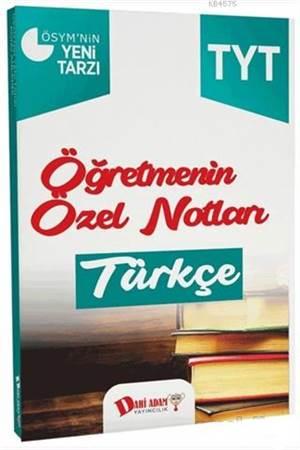 2018 YKS 1. Oturum TYT Türkçe Öğretmenin Özel Notları
