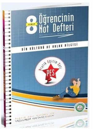 8. Sınıf PES Din Kültürü Ve Ahlak Bilgisi; Pratik Eğitim Seti - Öğrencinin Not Defteri