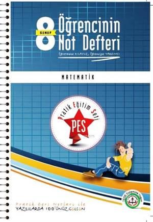 8. Sınıf Öğrencinin Not Defteri Matematik; Pratik Eğitim Seti