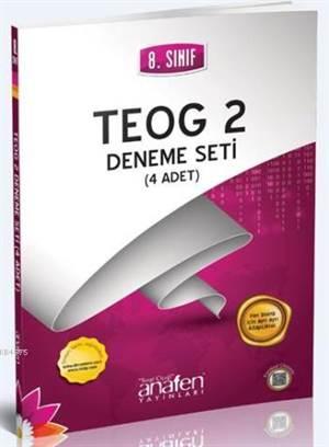 8. Sınıf TEOG 2 Deneme Seti (4 Adet)