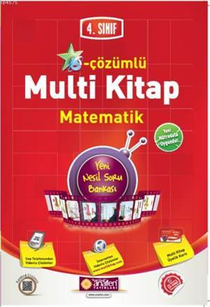 4.Sınıf E-Çözümlü Multi Kitap Matematik