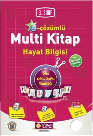 3.Sınıf E-Çözümlü Multi Kitap Hayat Bilgisi