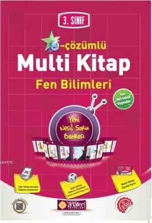 3.Sınıf E-Çözümlü Multi Kitap Fen Bilimleri