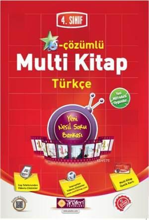 4.Sınıf E-Çözümlü Multi Kitap Türkçe