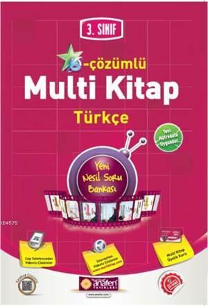 3.Sınıf E-Çözümlü Multi Kitap Türkçe