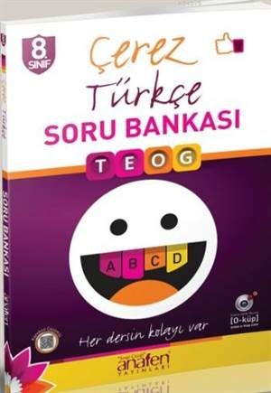 Anafen 8.Sınıf Çerez  Türkçe Soru Bankası