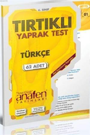 6.Sınıf Türkçe Tırtıklı; Yaprak Test (62 Yaprak)