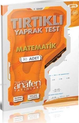 7.Sınıf Matematik Tırtıklı; Yaprak Test (30 Yaprak)