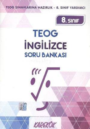 8. Sınıf TEOG İngilizce Soru Bankası