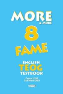 MORE&MORE 8: FAME English TEOG Testbook