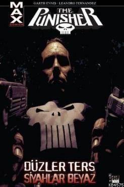 The Punisher Cilt 4 - Düzler Ters Siyahlar Beyaz