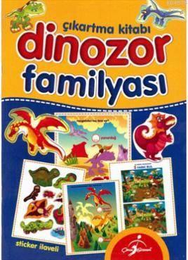 Dinozor Familyası Çıkartma Kitabı