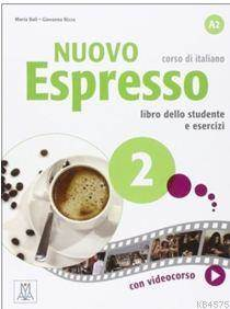 Nuovo Espresso 2 (A2) +DVD ROM (İtalyanca Orta-Alt Seviye)