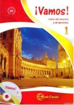 Vamos 1 (Ders Kitabı Ve Çalışma Kitabı +CD) İspanyolca Başlangıç Seviyesi; Libro Del Alumno Y De Ejercicios