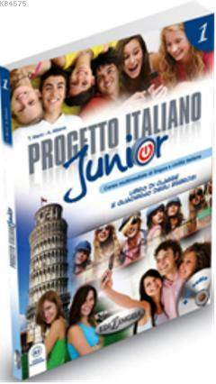 Progetto Italiano Junior 1 (Ders Kitabı Ve Çalışma Kitabı +CD) İtalyanca Temel Seviye
