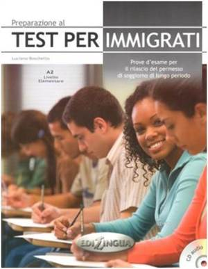 Preparazione Al Test Perimmigrati A2 +CD