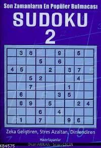 Sudoku 2; Son Zamanların En Popüler Bulmacası