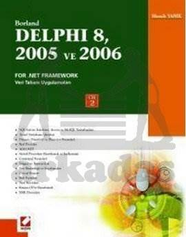 Delphi 8, 2005 ve 2006 For .Net Framework