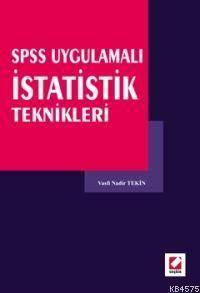 Spss Uygulamalı İstatistik Teknikleri
