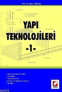 Yapı Teknolojileri - 1