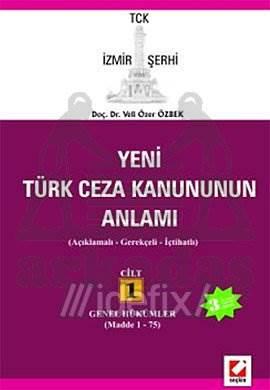 Türk Ceza Kanununun Anlamı Cilt:1
