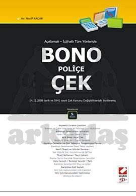 Bono – Poliçe – Çek