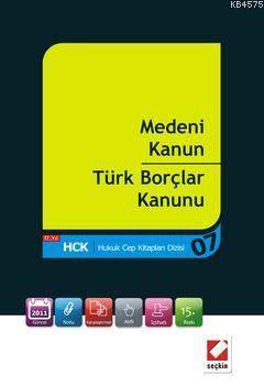 Medeni Kanun - Türk Borçlar Kanunu