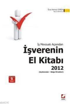 İşverenin El Kitabı 2012; Açıklamalar  Belge Örnekleri