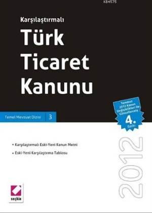 Karşılaştırmalı Türk Ticaret Kanunu