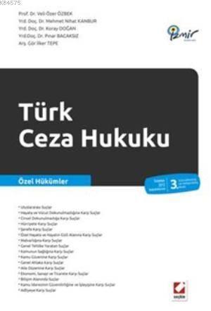 Türk Ceza Hukuku; Özel Hükümler