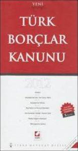 Yeni Türk Borçlar Kanunu