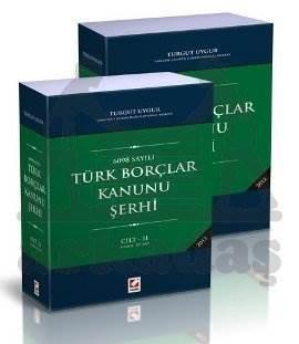 Türk Borçlar Kanunu Şerhi (2 Cilt)