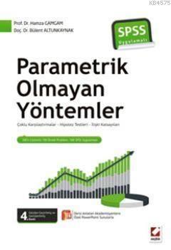 SPSS Uygulamalı Parametrik Olmayan Yöntemler