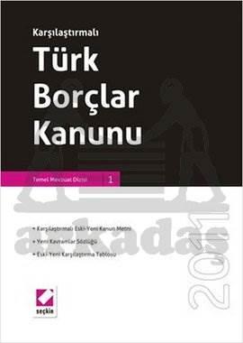 Karşılaştırmalı Türk Borçlar Kanunu