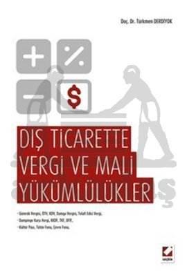 Dış Ticarette Vergi ve Mali Yükümlülükler