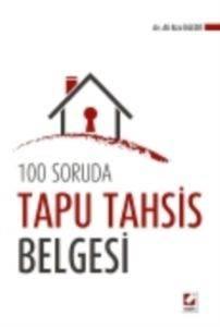 100 Soruda Tapu Tahsis