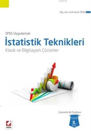 SPSS Uygulamali Istatistik Teknikleri; Klasik ve Bilgisayarli Çözümler