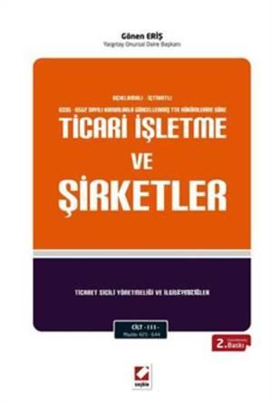 Ticari Isletme ve Sirketler  3 Cilt