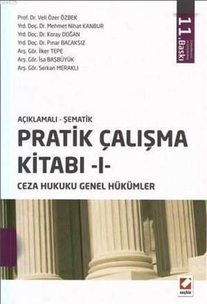 Açıklamalı-Şematik Pratik Çalışma Kitabı I; Ceza Hukuku Genel Hükümler