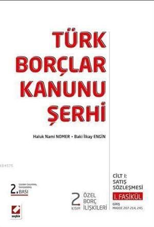 Türk Borçlar Kanunu 2. Kısım