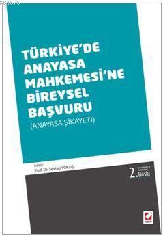 Türkiye'de Anayasa Mahkemesine Bireysel Başvuru