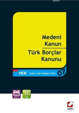 Medeni Kanun-Türk Borçlar Kanunu