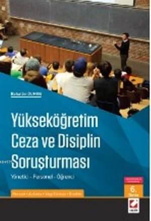 Yükseköğretim Ceza ve Disiplin Soruşturması