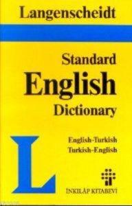 İngilizce Türkçe İngilizce Standard English Dictionary Ciltli