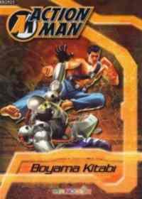 Action Man Boyama Kitabı Kahverengi