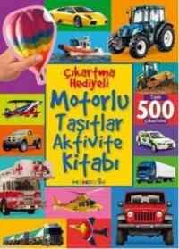 Çıkartma Hediyeli Motorlu Taşıtlar Aktivite Kitabı