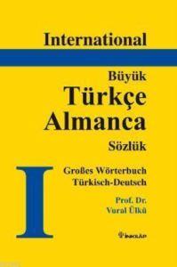 International Büyük Türkçe Almanca Sözlük (Ciltli)
