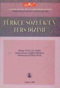 Türkçe Sözlük'ün Ters Dizimi