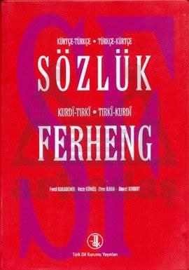 Sözlük Ferheng Kürtçe Türkçe-Türkçe-Kürtçe