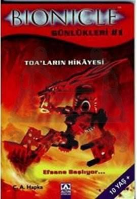 Bionicle Günlükleri-1 Toa'ların Hikayesi